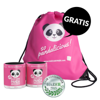 2x Hair Care Panda + Rucksack GRATIS