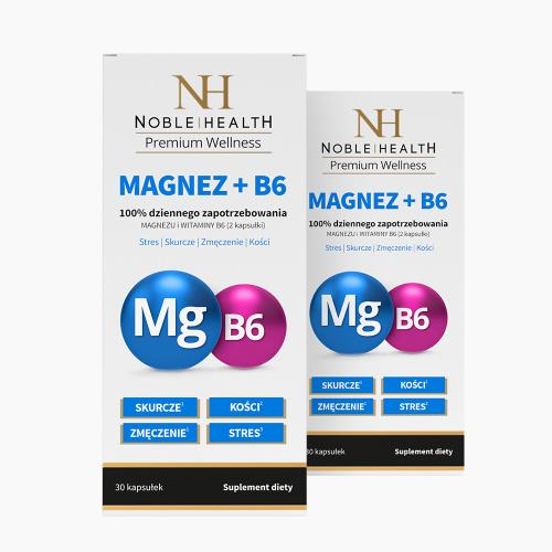 2x Magnez + witamina B6