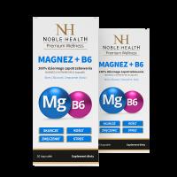 2x Magnesium + vitamin B6