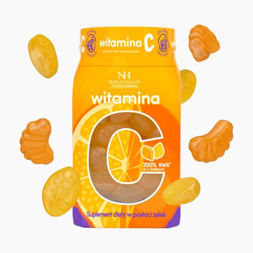 Vitamina C in forma di gelatine
