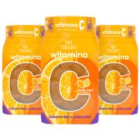 3x Vitamina C in forma di gelatine