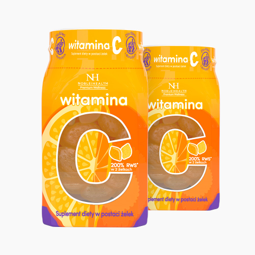 2x VITAMIN C IN JELLIES