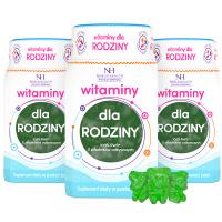 3x Vitamine per la famiglia in forma di gelatine