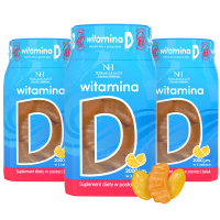 3x Vitamina D in forma di gelatine