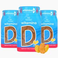 3x Vitamin D in jellies