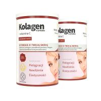 2x Collagene + Vitamina C in forma di polverea