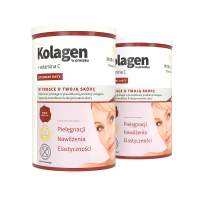 2x Collagen in powder + vitamin C