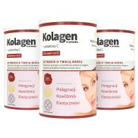 3x Collagen in powder + vitamin C