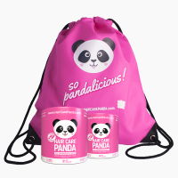 2x Hair Care Panda + free Backpack