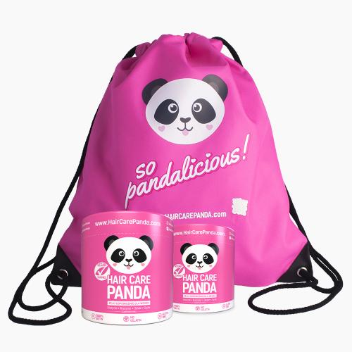 Hair Care Panda x2 + Plecak GRATIS