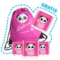 3x Hair Care Panda + 1 STUK & RUGZAK GRATIS