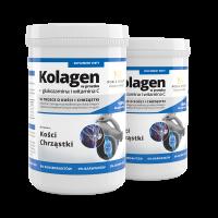 2x Kolagen w proszku + glukozamina i witamina C