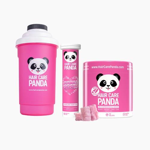 Hair Care Panda Pink Crew