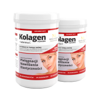 2x Kollagen in Pulverform + Vitamin C