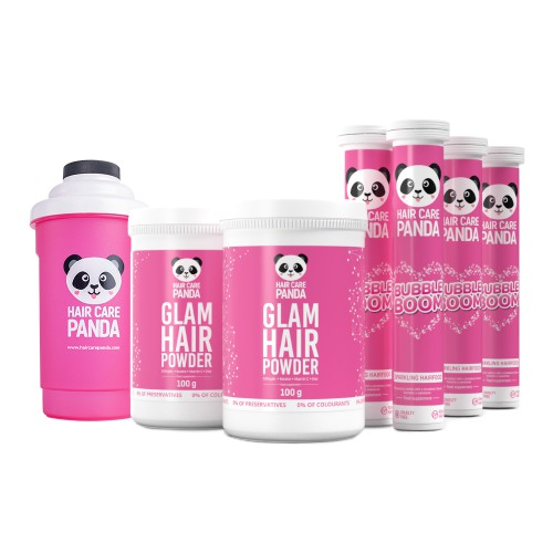 Hair Care Panda Lightening Set