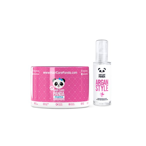 Hair Care Panda Happy Mama