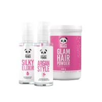 Hair Care Panda Glow Set
