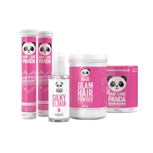 Hair Care Panda Smooth Set