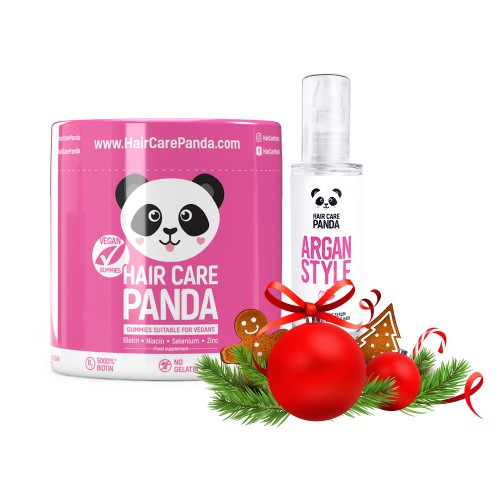 Hair Care Panda Vegan Christmas