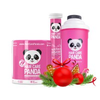 Hair Care Panda Pink Christmas
