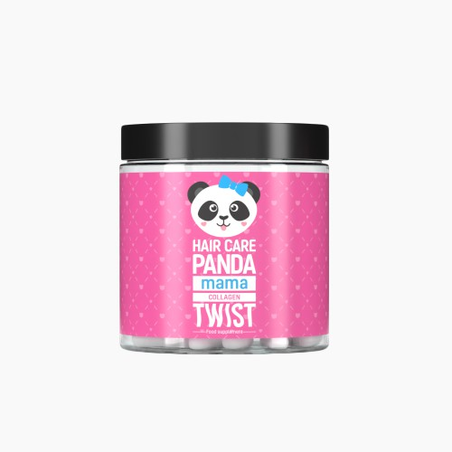 Hair Care Panda Collagen Twist Mama Natural Dermocosmetics And Dietary Supplements Collagen Creams