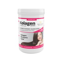 Powdered collagen + keratin and zinc