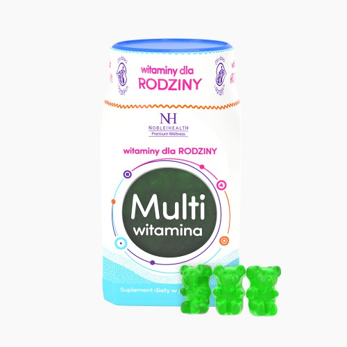 Multivitamin gummies for family