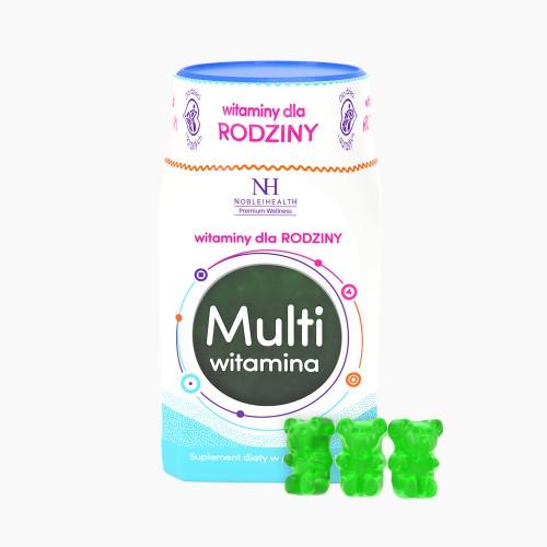 Multiwitamina w żelkach