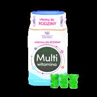 Multivitamin für Familie in Form von Gummibärchen