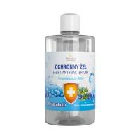 Gel protettivo per la cura delle mani Albero del tè e lavanda