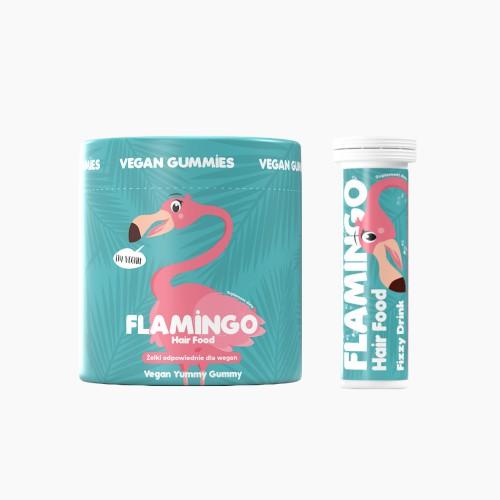 Zestaw Flamingastic Hair