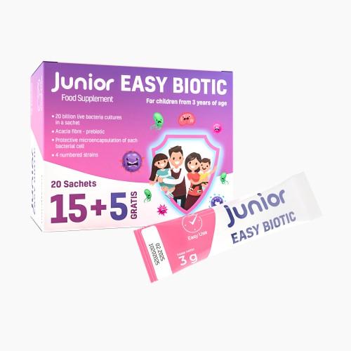 Probiotikum für Kinder in Beuteln Junior Easy Biotic
