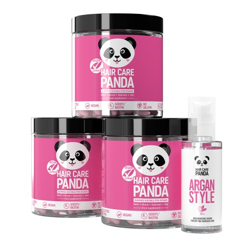 Hair Care Panda Vegan Hair Power