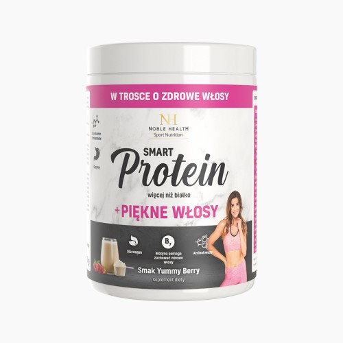 Vitamine per capelli + proteine vegane Smart Protein