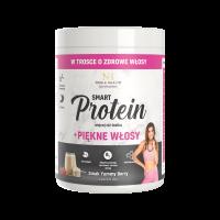 Witaminy na włosy + białko wegańskie Smart Protein