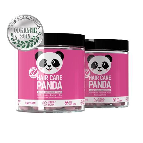 Hair Care Panda Vegan Gummies x2