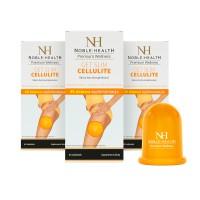 Zestaw 3x Get Slim Cellulite + bańka do masażu