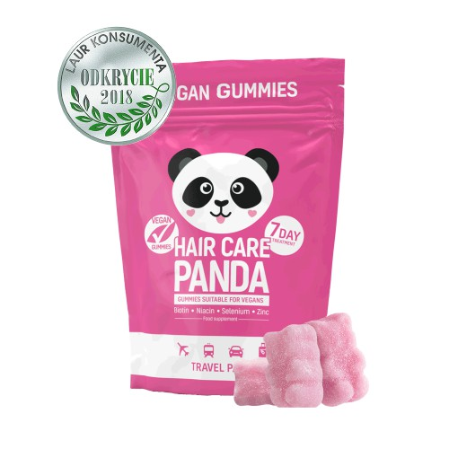 Hair Care Panda Travel Pack