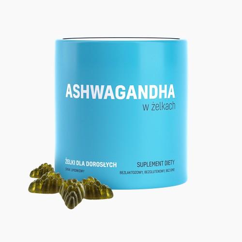 Ashwagandha w żelkach