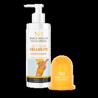 Zestaw Get Slim Cellulite Bańka + Olejek do masażu