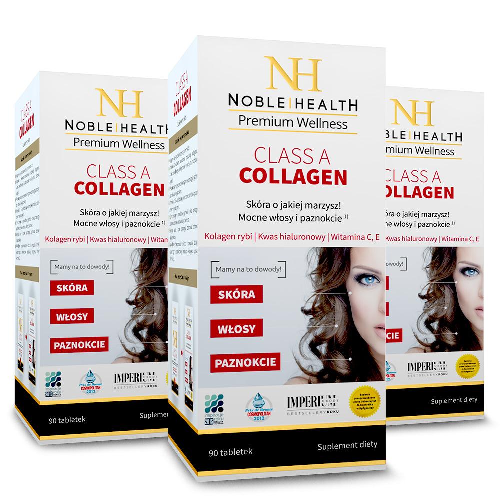 3x Kolagen Morski W Tabletkach Class A Collagen Produkty