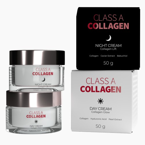 Zestaw Kremy z kolagenem Class A Collagen