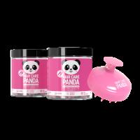 2x Hair Care Panda Vegan Gummies + Scalp Massager