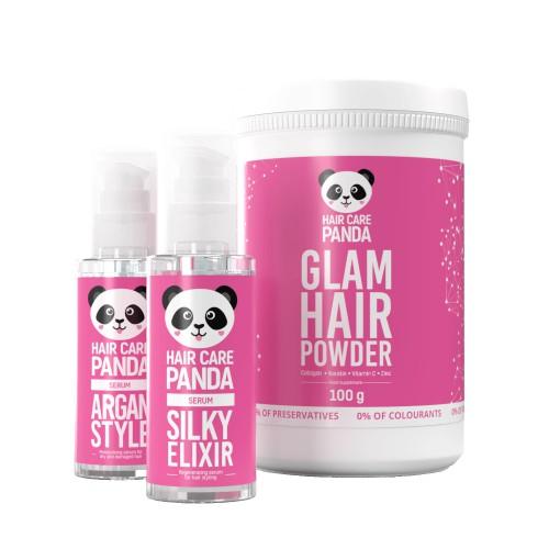 Hair Care Panda Glow Set