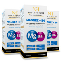 3x Magnez + witamina B6