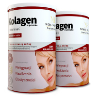 2x Collagen in powder + vitamin C