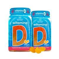 2x Vitamina D in forma di gelatine