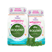 2x Vitamine per la famiglia in forma di gelatine