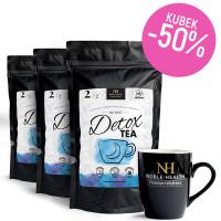 3x Detox Tea Herbata na noc + kubek za 50% ceny