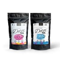 Detox Tea Set Tee für Tag und Nacht